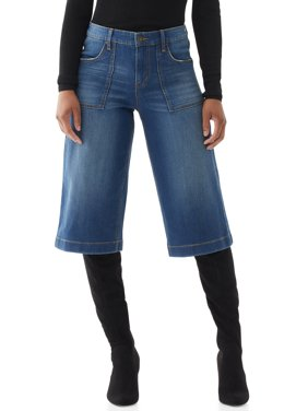 Scoop Womens Gaucho Jeans