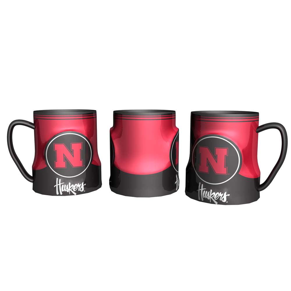 Nebraska Cornhuskers Coffee Mug - 18oz Game Time (New Handle)