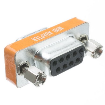 Db9 Female Cable (Cable Wholesale Mini Null Modem Adapter, DB9 Female to DB9 Female)