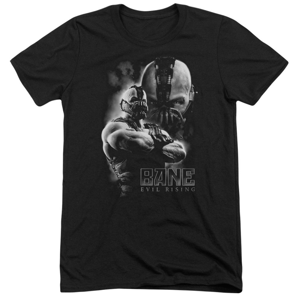 Dark Knight Rises Evil Rising Mens Tri-Blend Short Sleeve Shirt