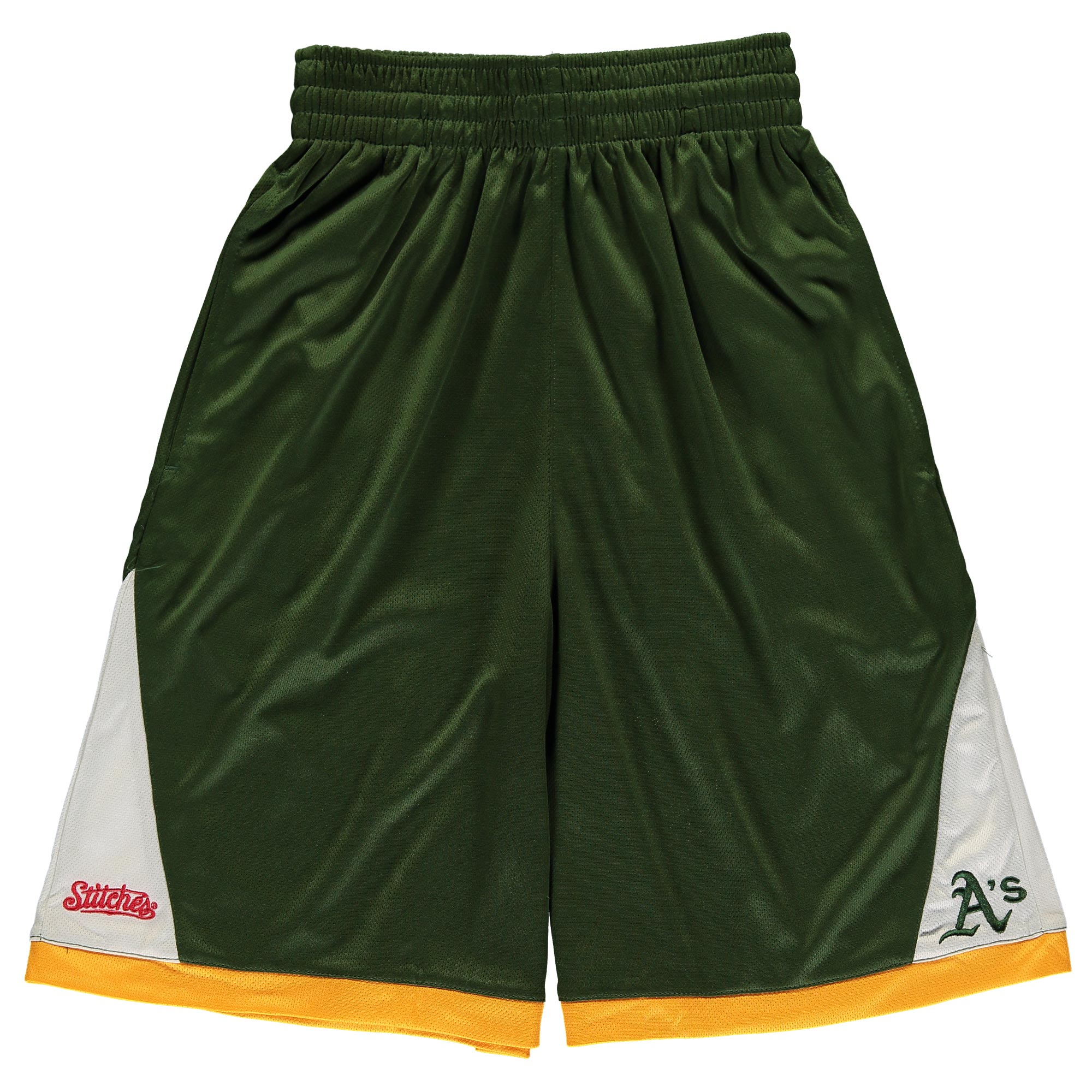 Oakland Athletics Stitches Youth Moneyball Shorts - Green
