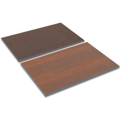 Alera Reversible Laminate Table Top, 36w x 24d, Medium Cherry/Mahogany