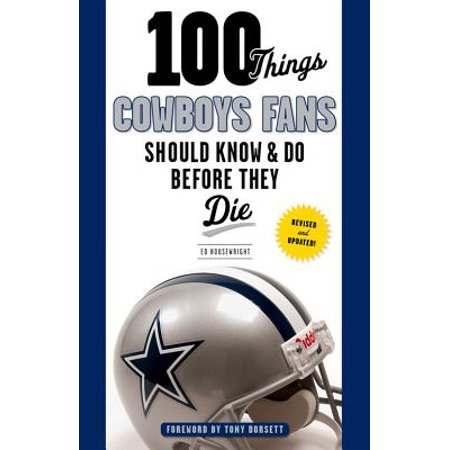 Tony Dorsett Autographed Football (100 Things Cowboys Fans Should Know & Do Before They Die)