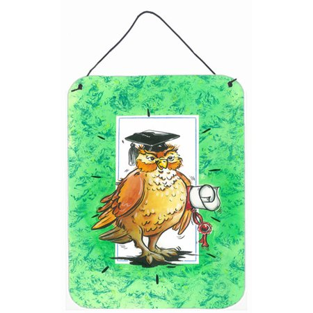 Own Plaque Kit (Caroline's Treasures Graduation The Wise Owl Painting Print Plaque )