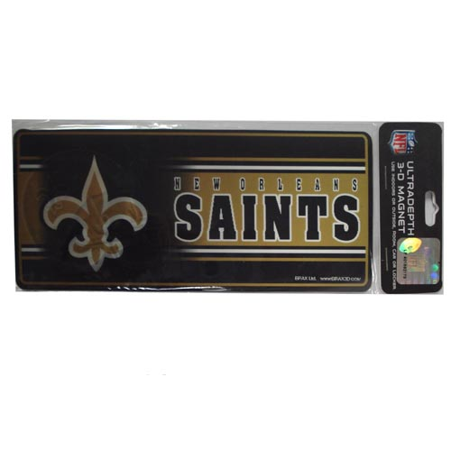 8 3D Magnet New Orleans Saints