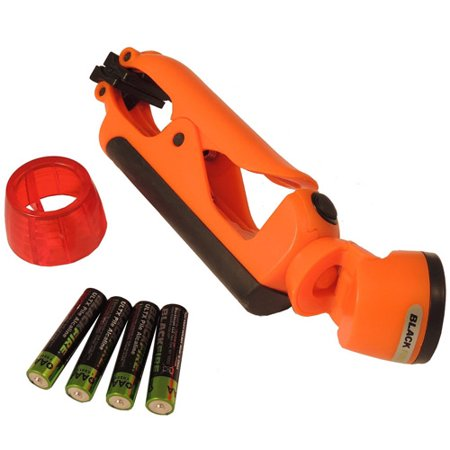 Blackfire Clamplight Emergency LED Light, Orange by