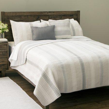 Carbon Loft Sanibel Island Stripe 5-piece Cotton Quilt Set