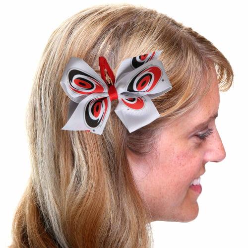 Carolina Hurricanes Women's Team Logo Hair Bow - No Size