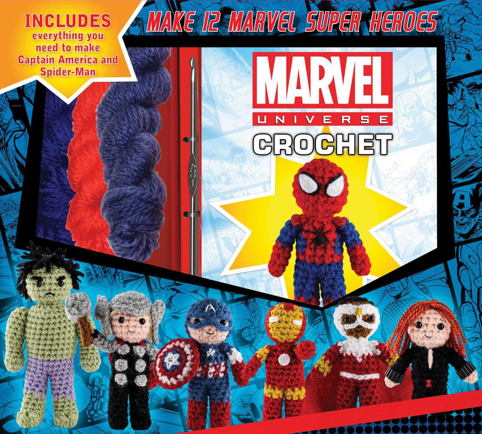 Crochet Kits: Marvel Universe Crochet (Other)