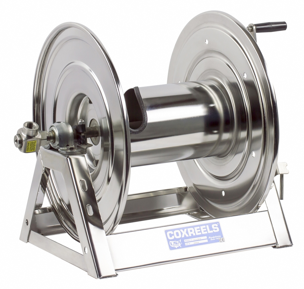 Coxreels 1125-5-100-E-SS Stainless Steel 12V DC Motorized...