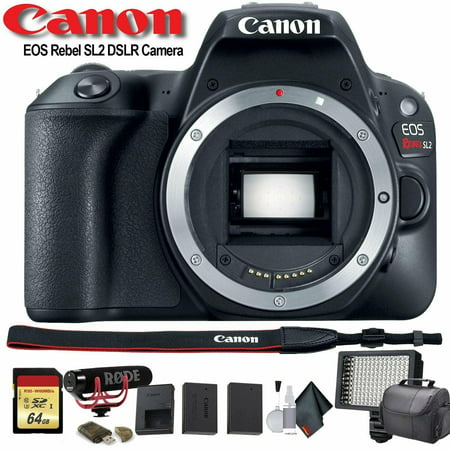 Canon EOS Rebel SL2 DSLR Camera 2249C001 Pro Bundle 02