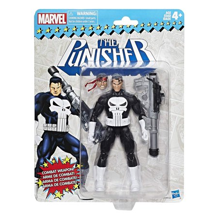 Marvel Legends Vintage Retro 6-inch Collection Punisher Figure