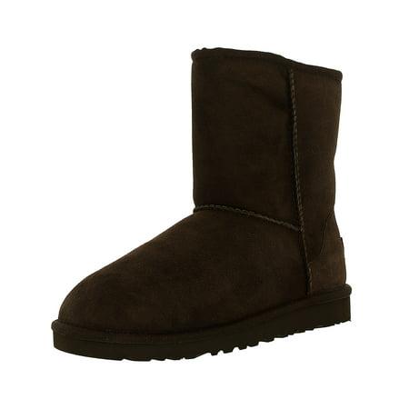 Ugg Girl's Classic K Chocolate Mid-Calf Wool Boot -