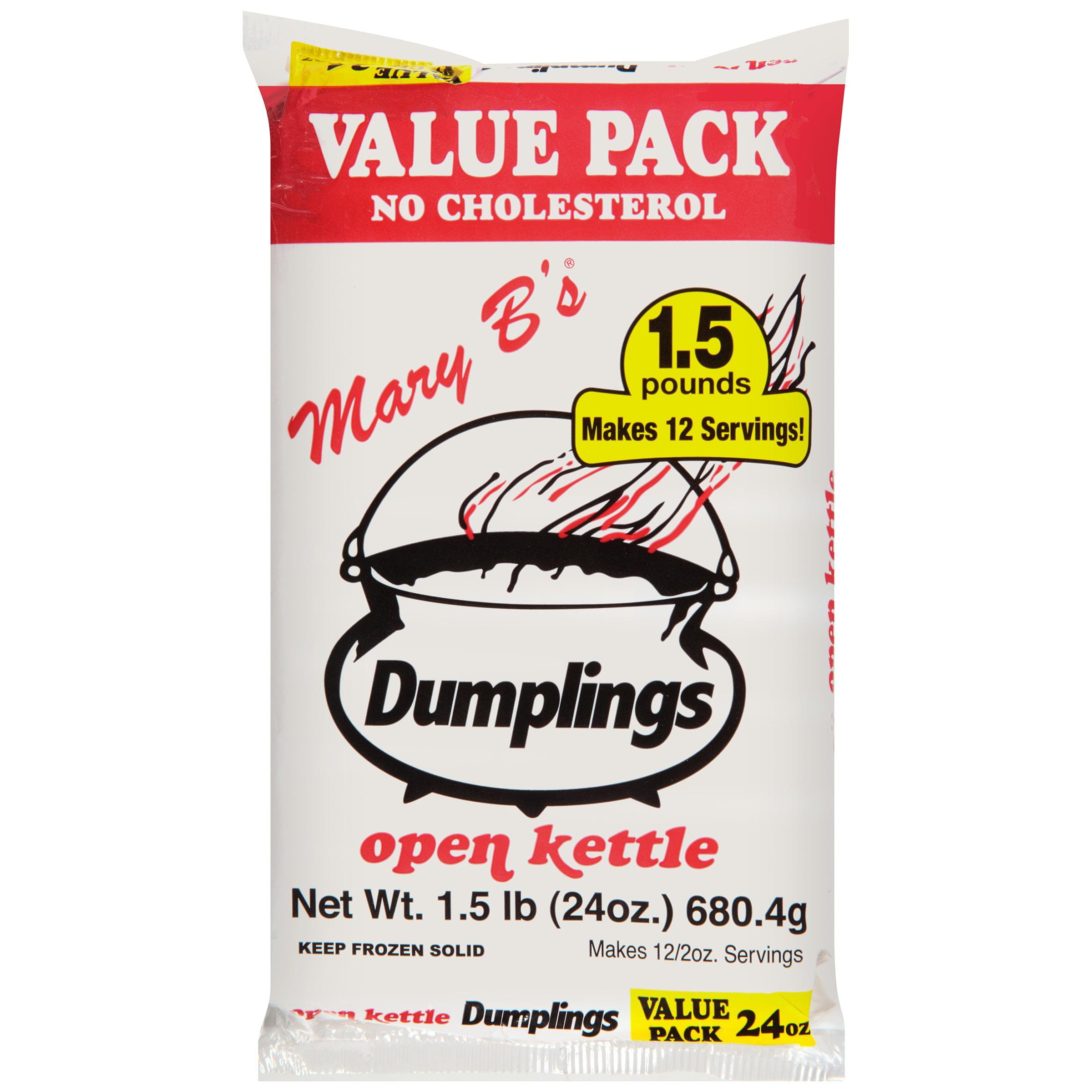 Mary B\'s® Open Kettle Dumplings 1.5 lb. Bag - Walmart.com