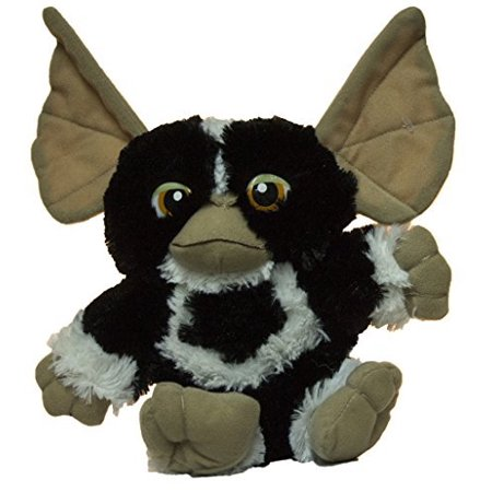 12 Inch Super Soft Stripe Mogwai Plush Toy, Measures 13 inches from tip of ear to bottom of foot. By Gremlins