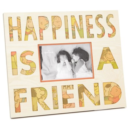 Peanuts Happiness Is a Friend Picture Frame, 6x4 Picture Frames ...