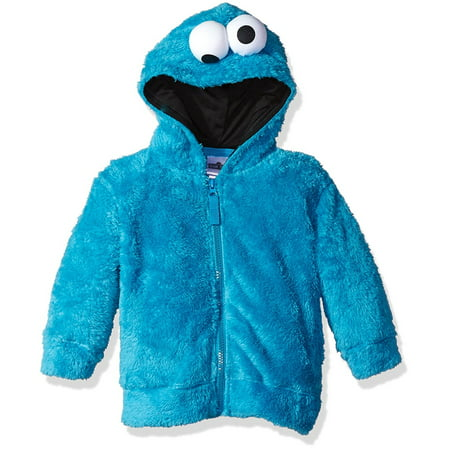 Sesame Street Boys' Fuzzy Costume Hoodie (Multiple Characters) - Sesame Street Dog Costume