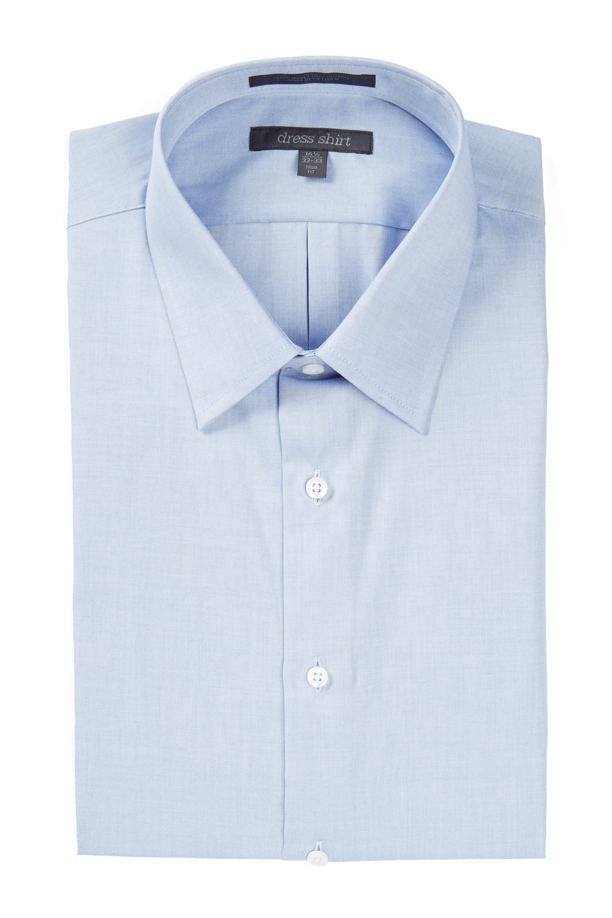 Nordstrom New Blue Sky Solid Mens Size 16 Suiting Dress Shirt