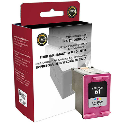 CIG Remanufactured Tri-Color Ink Cartridge (Alternative for HP CH562WN 61) (165 Yield)