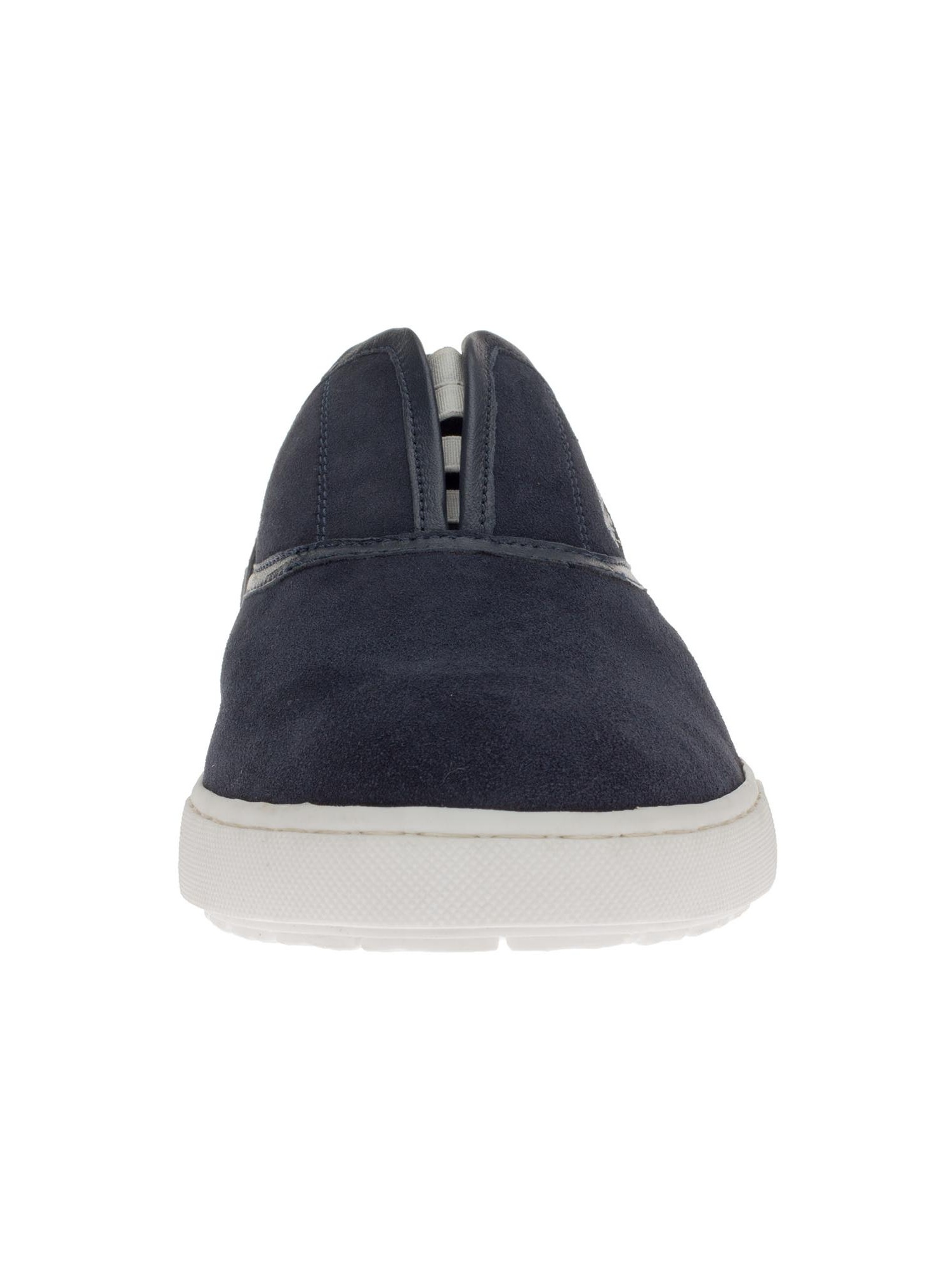 Gino Valentino Men's Alfonso Leather Shoes Fashion Slip-On Sneaker