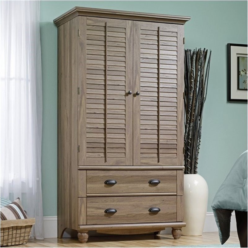 Bowery Hill Armoire in Salt Oak by Bowery Hill