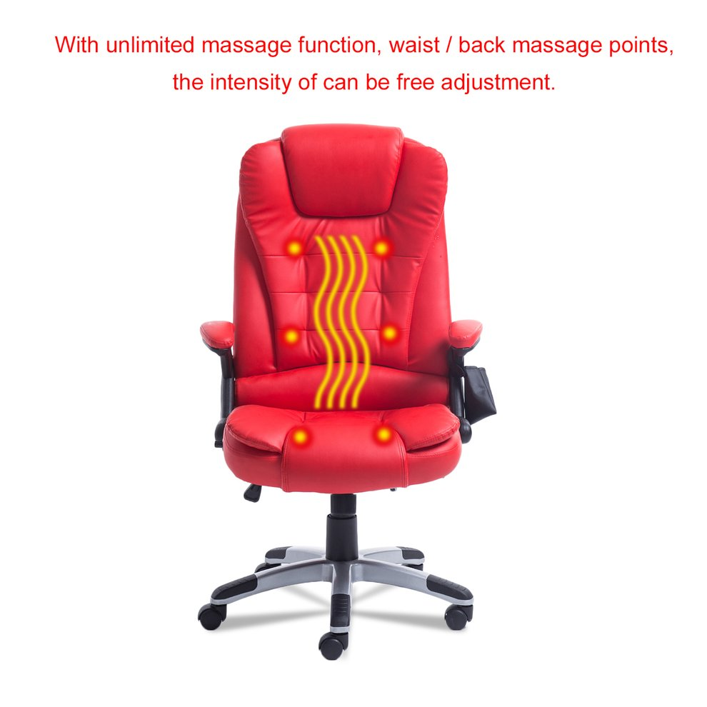 2017 New 360 Degree Rotation Home Office Computer 6 Point Wireless Game Massage Chair