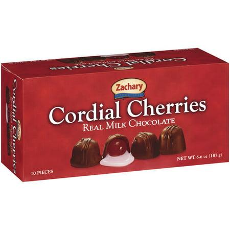 Zachary Real Milk Chocolate Cordial Cherries, 10ct - Walmart.com