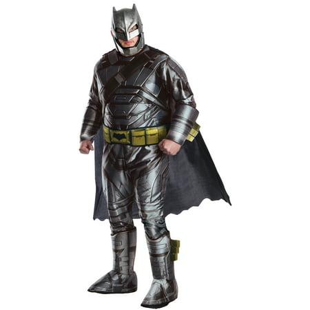 Dawn of Justice Armored Batman Men's Adult Halloween Costume](Batman Mens Costume)