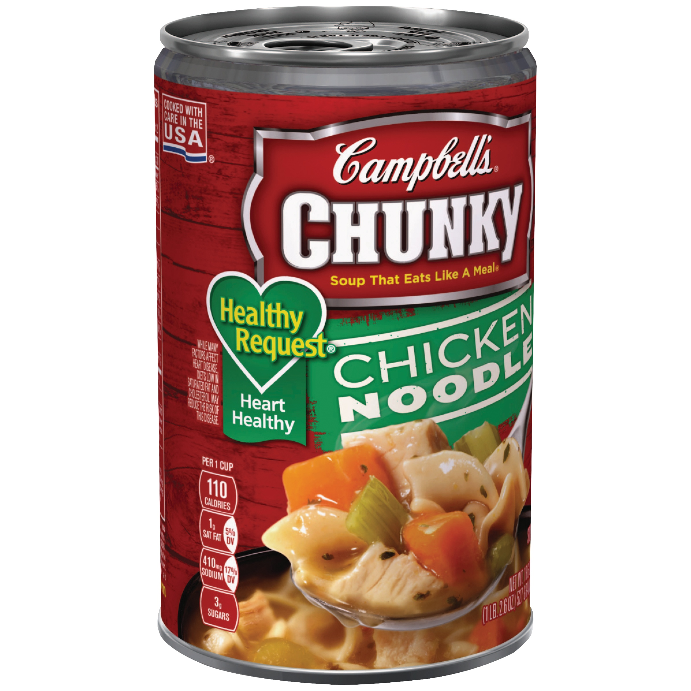 Campbell's® Chunky™ Healthy Request® Chicken Noodle Soup, 18.6 oz.