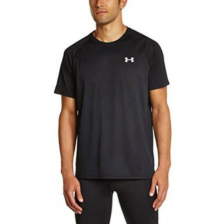 Men's Short Sleeve Tech Tee, X-Large, Black/White