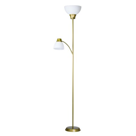 Mainstays 6ft LED Floor Lamp with Reading Light