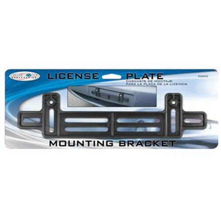 Custom Accessories 92650 License Plate Mounting Bracket, (License Plate Mounting Bracket)