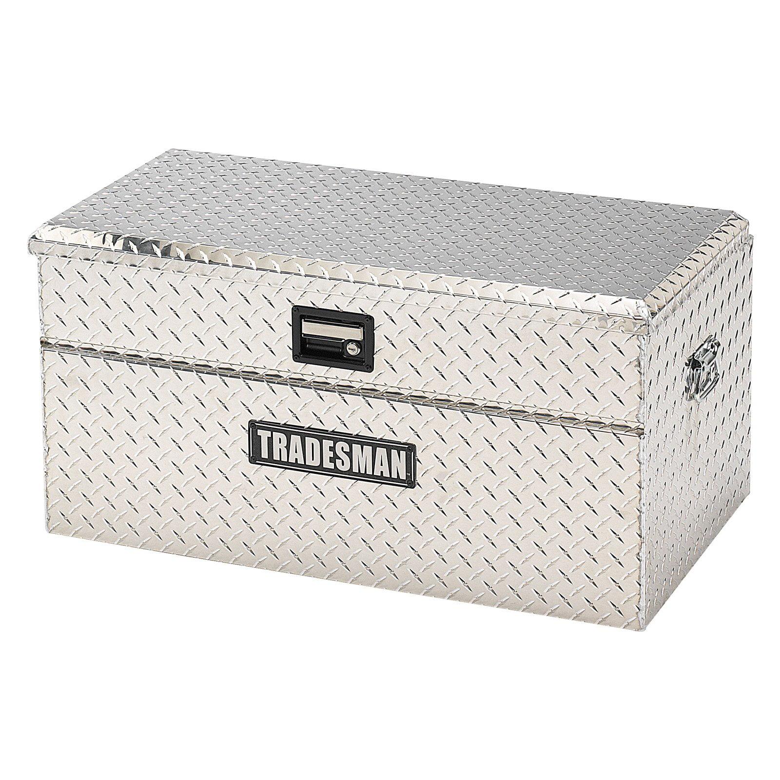 Tradesman Small Size Single Lid Flush Mount Truck Tool Box