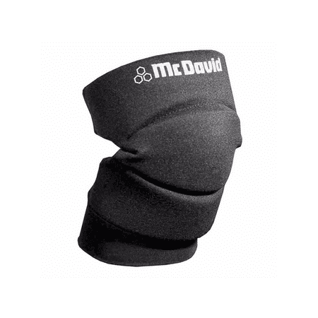 Mcdavid Foam Elbow Pads - McDavid Classic Logo 643 CL Knee / Elbow Pads W/ Open Back Pair Black  Large