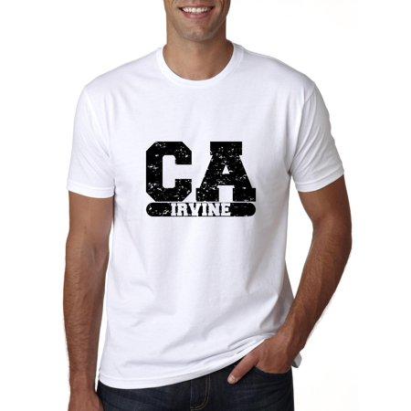 Irvine, California CA Classic City State Sign Men's T-Shirt