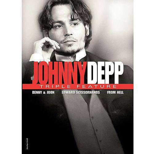 Johnny Depp Triple Feature: Benny And Joon / Edward Scissorhands / From Hell (Widescreen) - Halloween Costumes Johnny Depp