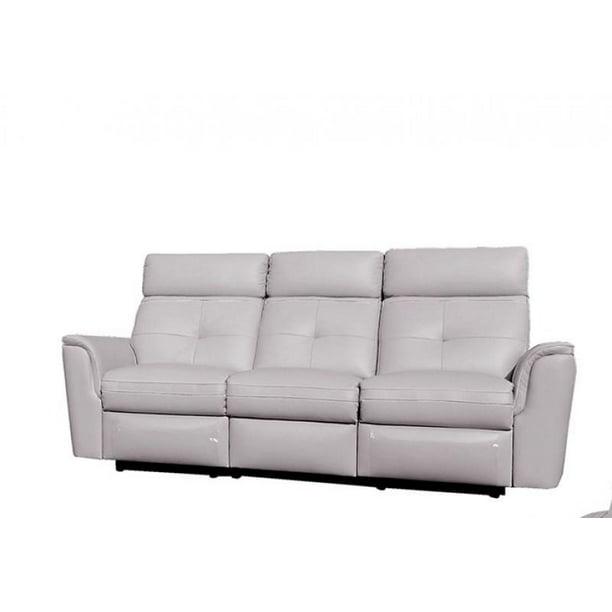 Italian Leather Recliner Sofa Modern