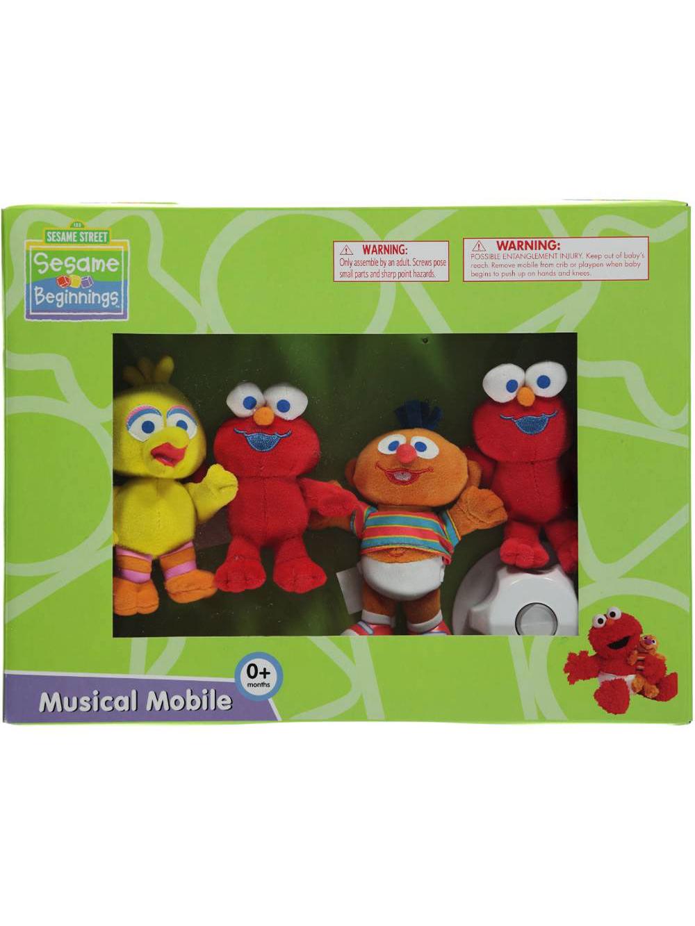 """Sesame Beginnings """"Elmo & Friends"""" Musical Mobile by Sesame Street"""