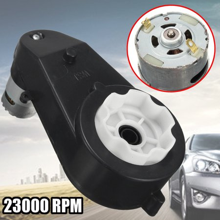 12V 23000 RPM Electric gear Motor Gear Box For Kids Ride On Car Bike Toy Spare Parts - Gears For Kids
