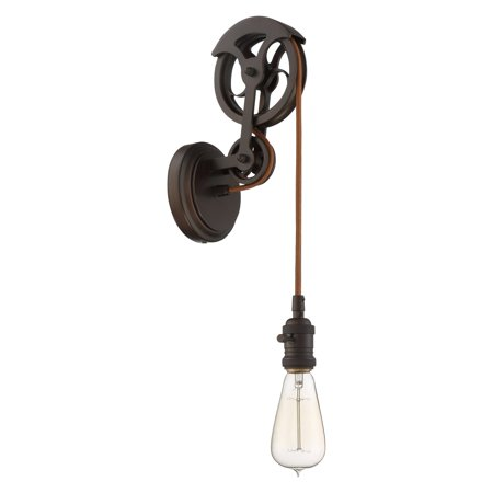 Craftmade Design-A-Fixture CPMKPW Pulley Wall - Craftmade Satin Sconce