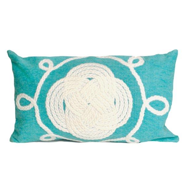 liora manne nautical knot pillow 12 x 20