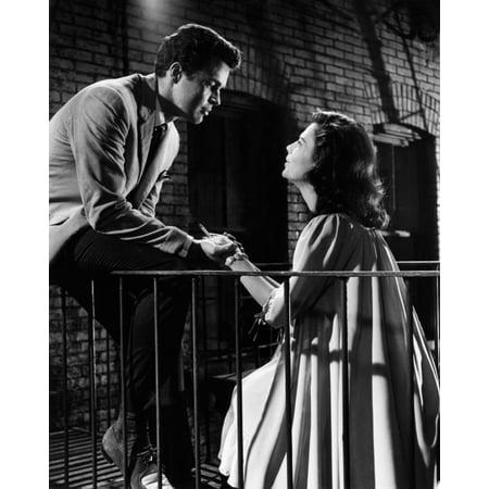 1961 Photo (West Side Story From Left Richard Beymer Natalie Wood 1961 Photo Print )