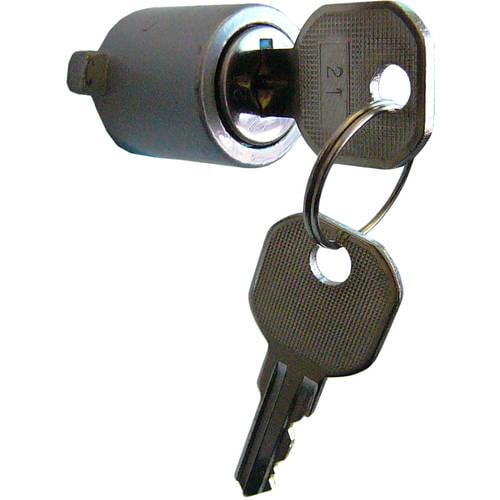 Push-Button Key Lock Converts SK11 & SK910 To Locking Units