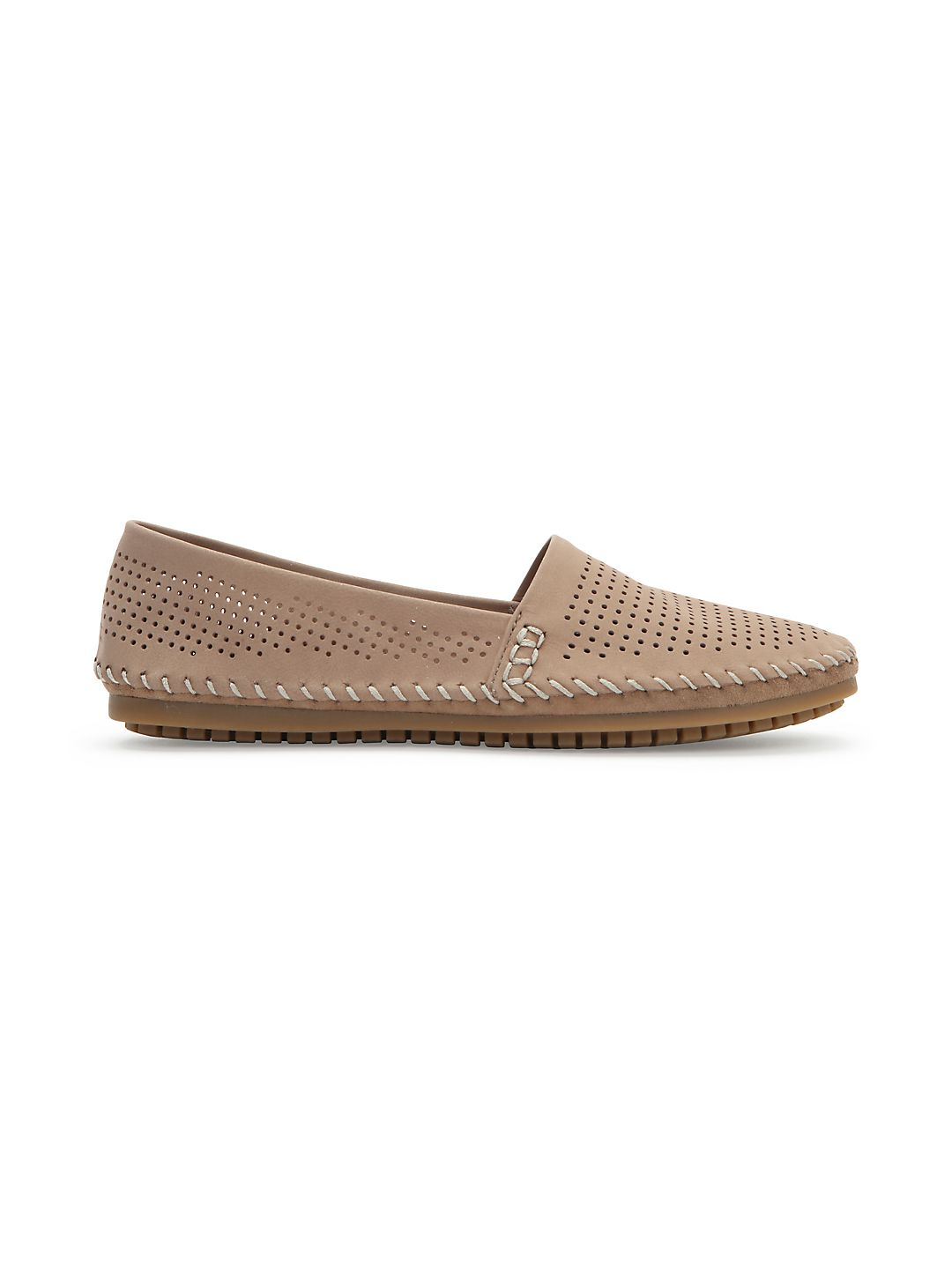 Seaside Perforated Slip-On Shoes