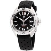 Tag Heuer Formula 1 Black Dial Silicone Strap Men's Watch WAZ2113FT8023