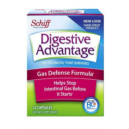 Digestive Advantage Gas Defense Probiotic  32 Capsules