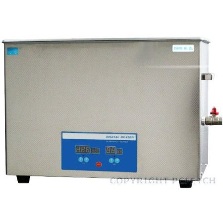 25 Liter Ultrasonic Cleaner Stainless Steel Heated Clean Industrial Medical Dental   Power 1400 Watts   6 6 Us Gal