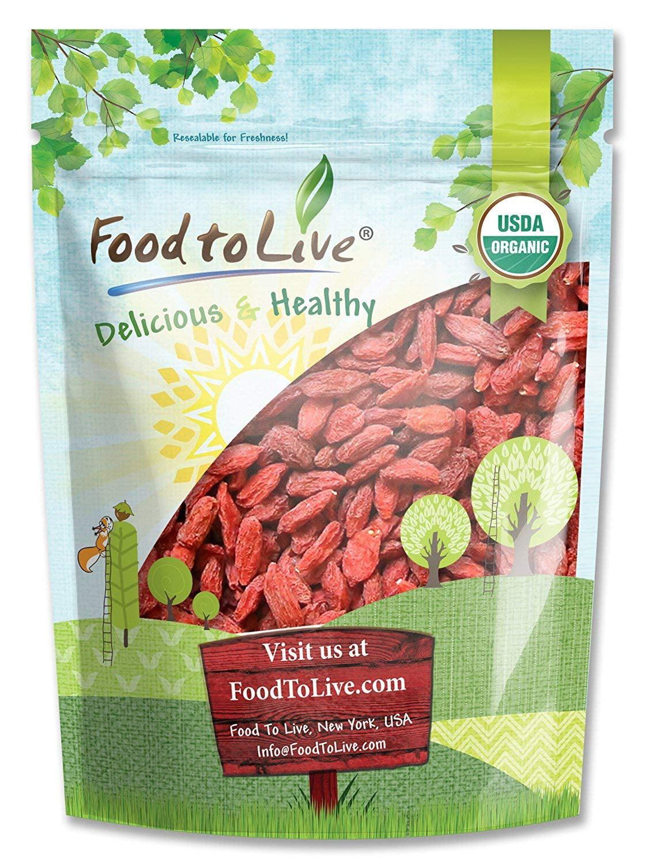 food to live  organic goji berries (3 pounds)