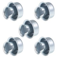 Metal Tube Protector Hose Coupler Joint Fit 8 Conduit Pipe 5 Pcs