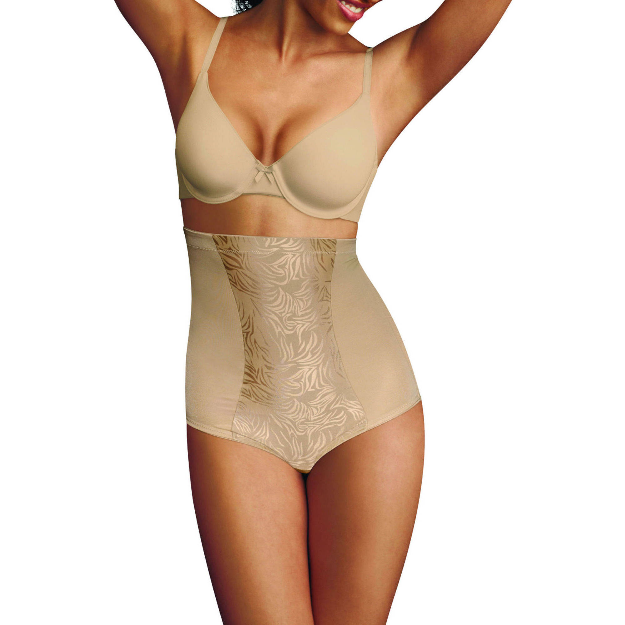 FLEXEES by Maidenform Ultra Firm Control, Value Shapewear Hicut Brief 83061